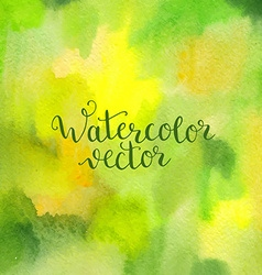 Watercolor hand painted background vector