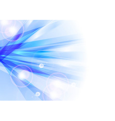 Blue shiny abstract stripes background vector