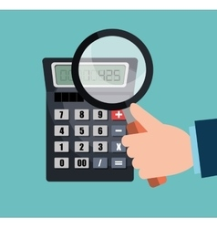 Calculating expenses design vector