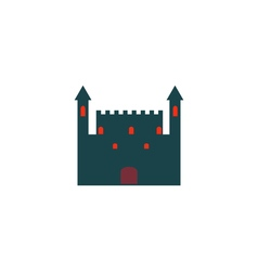 Castle Icon vector image vector image