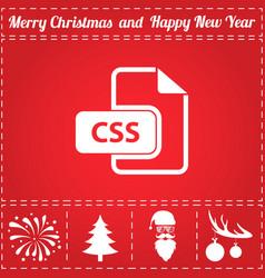 Css icon vector