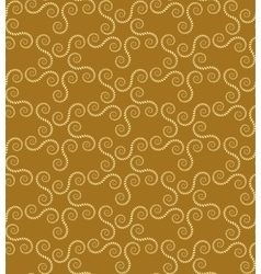 Spiral seamless lace pattern vintage texture vector