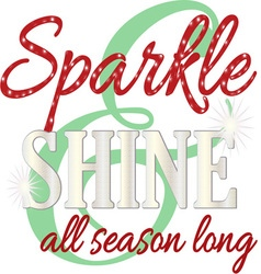 Sparkle all season vector