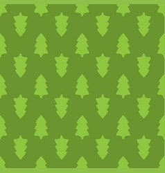 christmas fir tree seamless pattern vector image