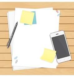Workplace organization vector image