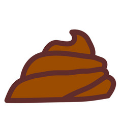 pile of shit vector image