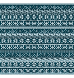 Knitting pattern sweater flowers 225778899 vector