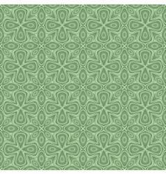 Seamless ornamental flower pattern vector