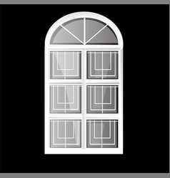 Windows plastic vector