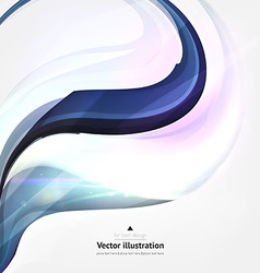 Abstract line design against white background vector