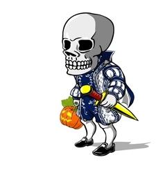 Prince of halloween vector
