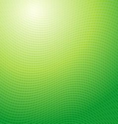 design pattern Green waves abstract light vector image