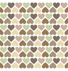 Hipster hearts pattern vector