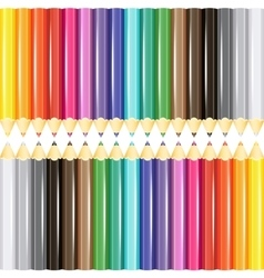 Sets of pencils vector