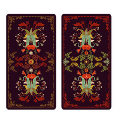 For tarot and playing cards vector