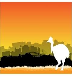Sydney vector image