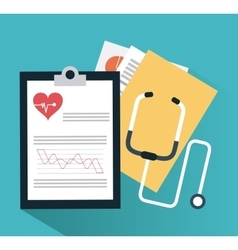 Medical and cardiology design vector