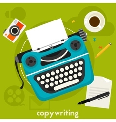 Copywriting concept vector