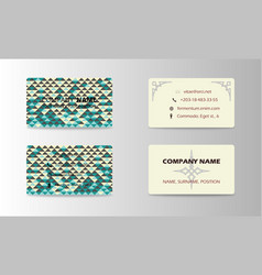 corporate professional designer business or vector image