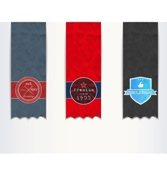 stickers for your text vector image