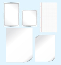 Papers vector