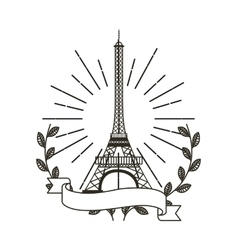 Iconic monuments of the world vector