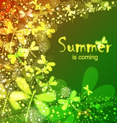 Summer is coming vector