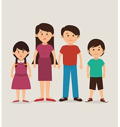 Family unity design vector