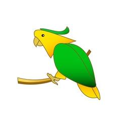Parrot-380x400 vector image