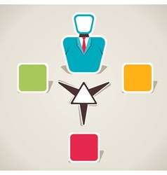 Creative business info-graphics vector