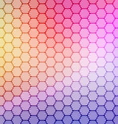 Gradient blue color and triangle polygon pattern vector