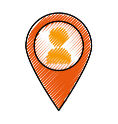 Location pointer pin vector