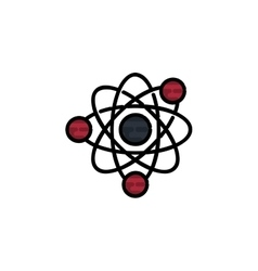Science flat icon vector image vector image