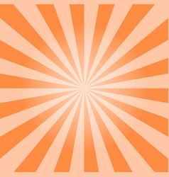 sun burst background vector image