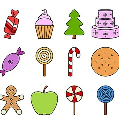 Sweets vector