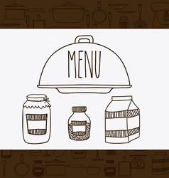 Cook icon design vector