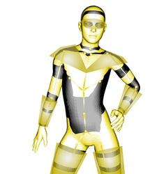 Humanoid robot vector