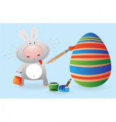 rabbit 3 vector image vector image