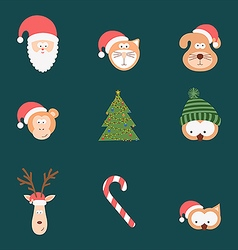 Team winter holiday vector image vector image