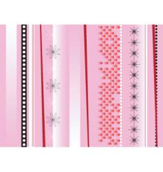 wrapping paper ruddy vector image