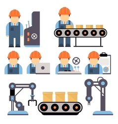 Production process vector
