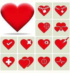 Heart 2 vector