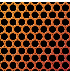 Metal Grill Seamless Pattern vector image vector image