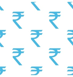 Rupee seamless pattern vector