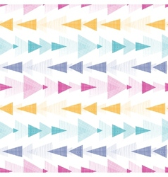 Textured arrows stripes seamless pattern vector image vector image