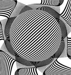 Decorative abstract design vector image