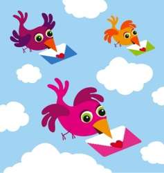 Message bird vector