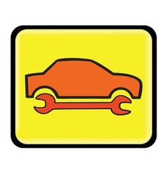 Auto service icon vector