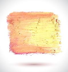 Brush pink yellow vector