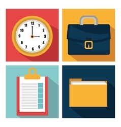 Business management design vector image vector image